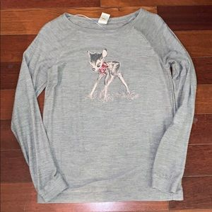 LC Lauren Conrad Disney Bambi Sweater
